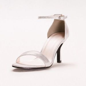 David's Bridal Nayomi Single Strap Sandal